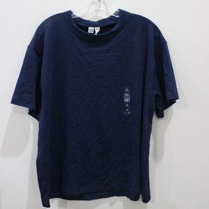 Uniqlo navy thick t-shirt - NWT
